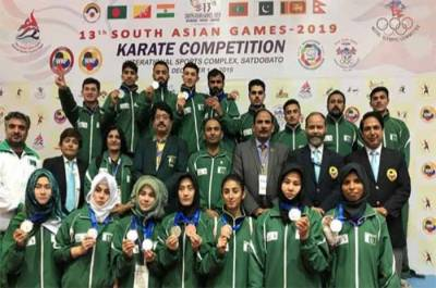 Pakistani Athletes clinch 6 Gold Medals in South Asian Games