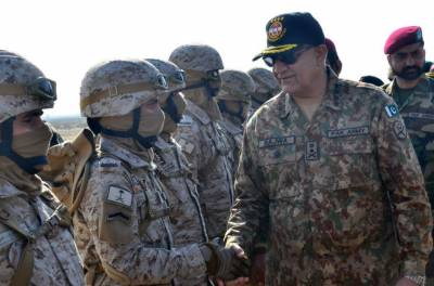 Pakistan Army Chief's strong warning to enemy on strike Corps drills along with Saudi military troops