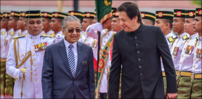 Pakistan PM Imran Khan accepts Malaysian PM Mahathir Mohammad's offer
