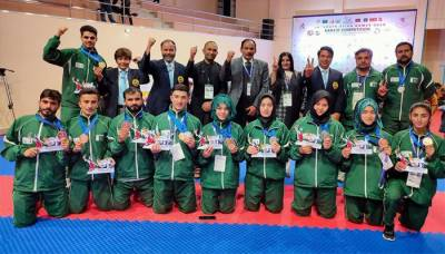 Pakistani Athletes clinch 62 medals at the South Asian Games