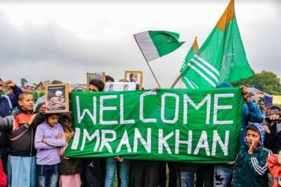 The Rise of Pakistani PM Imran Khan in Indian Occupied Kashmir