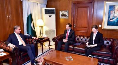 US Ambassador held important meeting with Pakistani Foreign Minister in Islamabad
