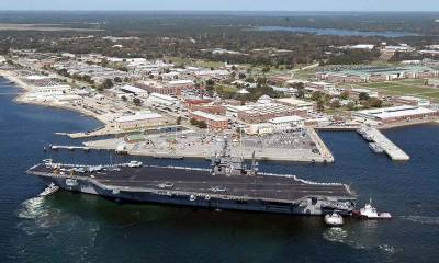 US Navy Base in Florida comes under gun attack: Report