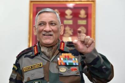 Indian Army Chief General Bipin Rawat afraid of Indian Sikh officers and troops visit to Pakistan