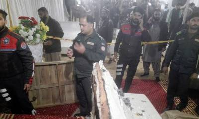 Blast in Lahore's Township kills at least one and injured over six