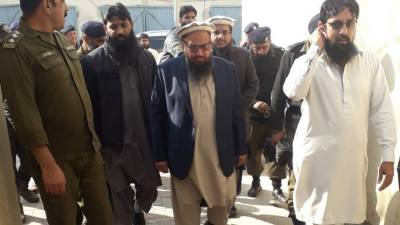 JuD Chief Hafiz Saeed lands in trouble