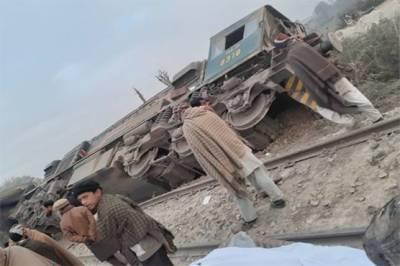 Pakistan Railways Sargodha Express collide with dumper, train driver killed after derailment