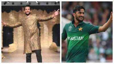 Rib fractured Pakistani pacer Hasan Ali performs at Fashion Show Catwalk stirring new controversy