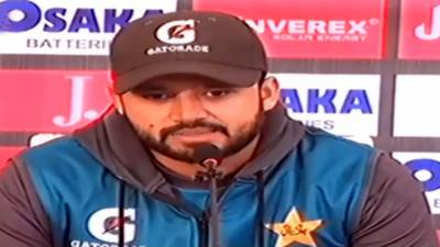Pakistani and Sri Lankan Skippers held press conference ahead of the historic test match in Rawalpindi