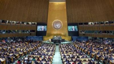 Russia faces a big setback from the UN General Assembly
