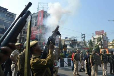 Army deployed in Indian states as the massive demonstrations went on rampage