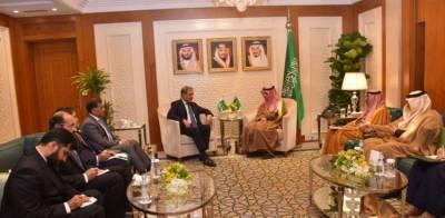 Pakistan FM Shah Mehmood Qureshi held important meeting with the Saudi FM in Riyadh