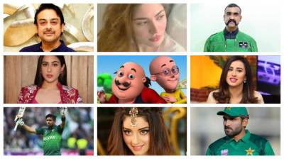 Top 10 Most searched personalities on Google Search for Pakistan in 2019