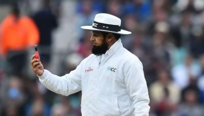 Pakistan's elite umpire Aleem Dar makes history in the World of Cricket