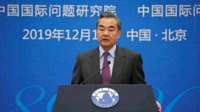 Chinese Foreign Minister lashes out at United States