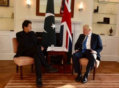 Pakistani PM Imran Khan sends special message for the newly elected UK PM Boris Johnson