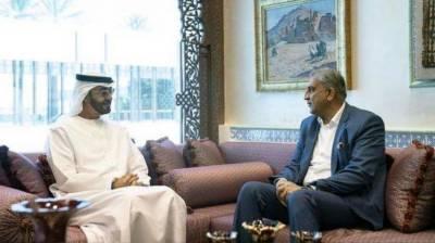 COAS General Qamar Javed Bajwa held important meeting with the UAE Crown Prince
