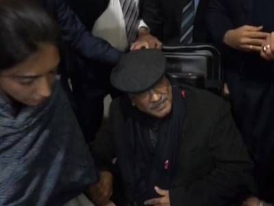 Former President Asif Ali Zardari to leave Pakistan on medical grounds
