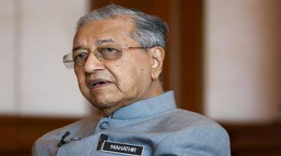 Malaysian PM Mahathir Mohammad hits out at US for sanctions against Islamic country