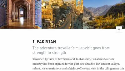 World's best luxury travel magazine lists Pakistan as the top most tourist destination for 2020 in the World