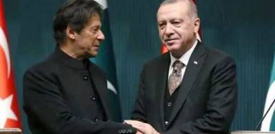 PM Imran Khan held important meeting with Turkish President Tayyip Erdogan