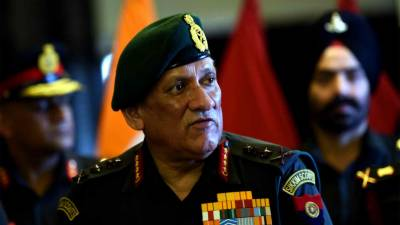 Indian Army Chief General Bipin Rawat hints at war against Pakistan at LoC