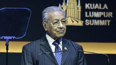 Malaysian PM Mahathir Mohammad floats a new idea for the Muslim world