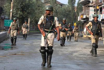 Forceful demonstrations held across Occupied Kashmir against Indian Military lockdown