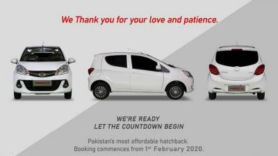 Leading automobiles company launches a new vehicle in Pakistan