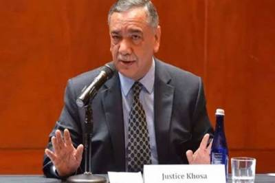 Outgoing CJP Justice Khosa reveals a defamation campaign against the country's judiciary