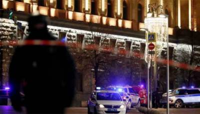 Russian top spy agency headquarters come under fire