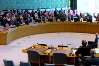 Russia and China veto pro United States resolution in UN Security Council