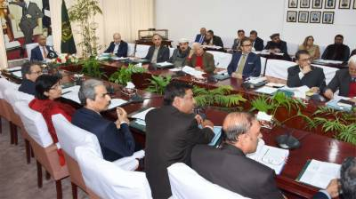 Economic Coordination important meeting held in Islamabad
