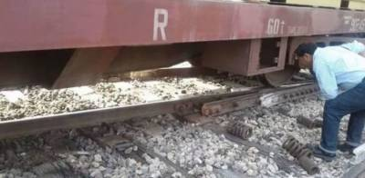 Pakistan Railways yet another train derailed suspending the North South main route traffic
