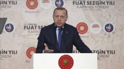 Turkish President Tayyip Erdogan vows to bring the Renaissance of the Muslim world