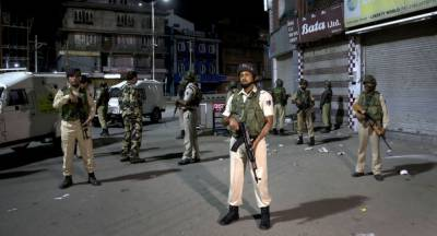 Indian government takes cosmetic military measures in Occupied Kashmir to befool world on IOK lockdown