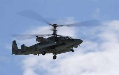 Military Helicopter makes crash landing injuring at least 15 people onboard
