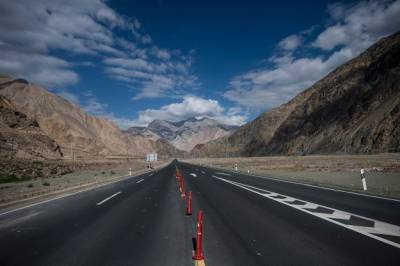 PTI government launches an alternate Route for the multi billion dollars CPEC project