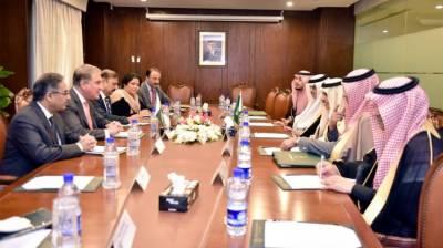 Saudi FM Prince Faisal held important meeting with Pakistani FM Qureshi