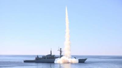 Pakistan Navy demonstrates massive show of missile firepower in Arabian Sea