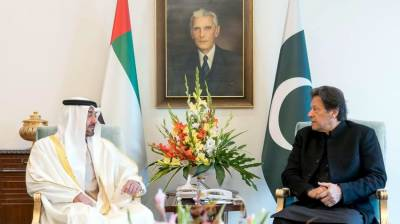 PM Imran Khan held important meeting with Abu Dhabi Crown Prince
