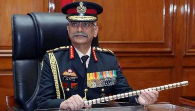 Indian Army Chief General Mukund Naravane threatens to invade Azad Kashmir