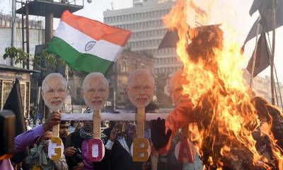 Indian PM Narendra Modi faces huge embarassing protests over citizenship law