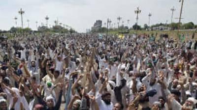 Big protest gathering held in Pakistani capital against martyrdom of Iranian General Qasem Soleimani