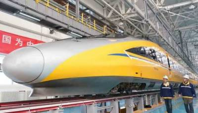 China launches smart driverless high speed bullet train