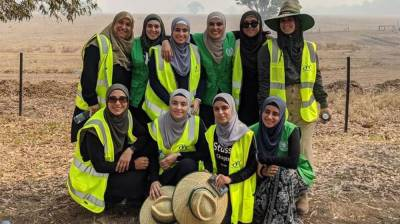 Australian Muslim women make a new precedence in the historic bushfires