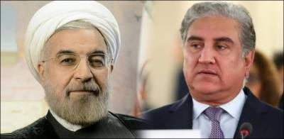 Pakistan FM Shah Mehmood Qureshi held important meeting with Iranian President Hasan Rouhani