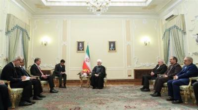 Iranian President Hasan Rouhani responds over the Pakistani peace efforts in middle East