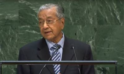 Malaysian PM Mahathir Mohammad refuses to surrender before Indian blackmailing tactics