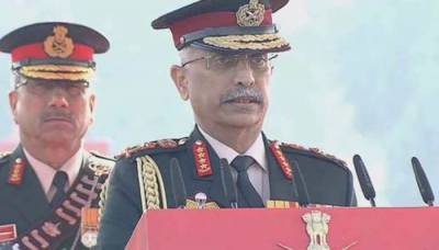 Beating the war drums, Indian army Chief General Narvane gives another stern warning to Pakistan